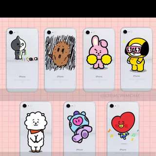 [PO]BT21 phone cover for iphone, samsung and oppo