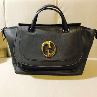 *SALE* Gucci 1973 Leather Tote Bag 全真皮