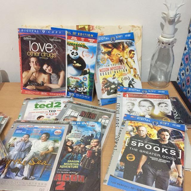 22 pcs DVD Film & Musik