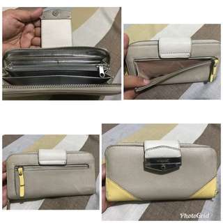 authentic ninewest long wallet