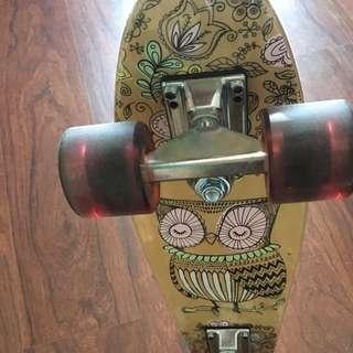 Small Vintage Skateboard