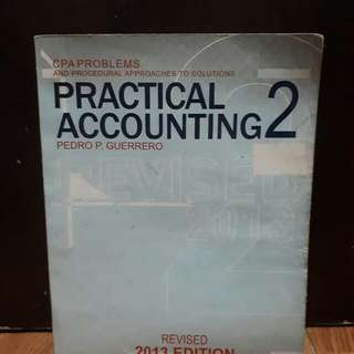 Practical Accounting 2 by Guerrero