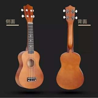 全新木質烏克麗麗21吋 小吉他