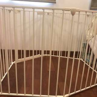 Lindam Baby sage and secure fence playpen (metal)