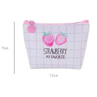 草莓樂園零錢包