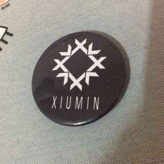 Xiumin EXO Badge