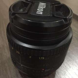 Nikkor 50mm 1.8D