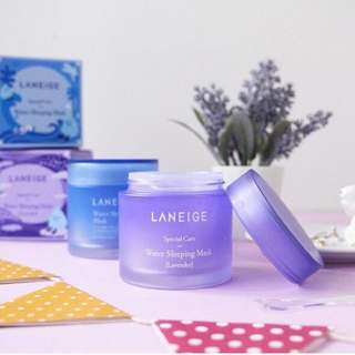 🎄✨Laneige Water Sleeping Mask Limited Edition Lavender 70ml