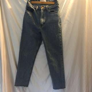 American Apparel Mom jeans size 26