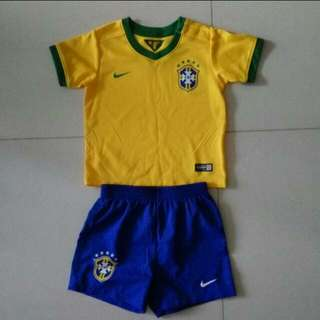 Nike Brazil 2014 soccer jersey