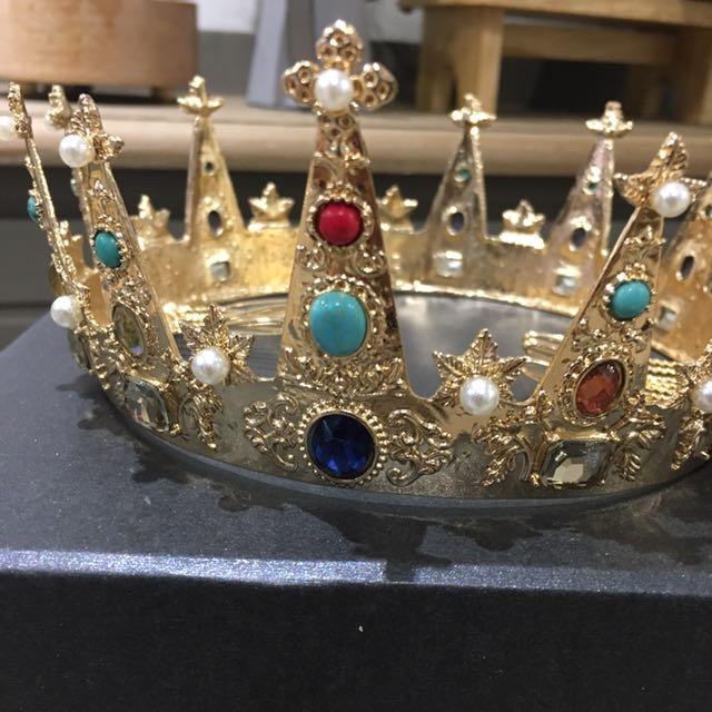 新娘飾品(皇冠)九成新