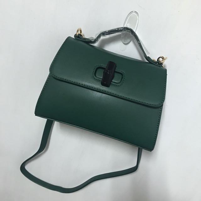 側背包-深綠