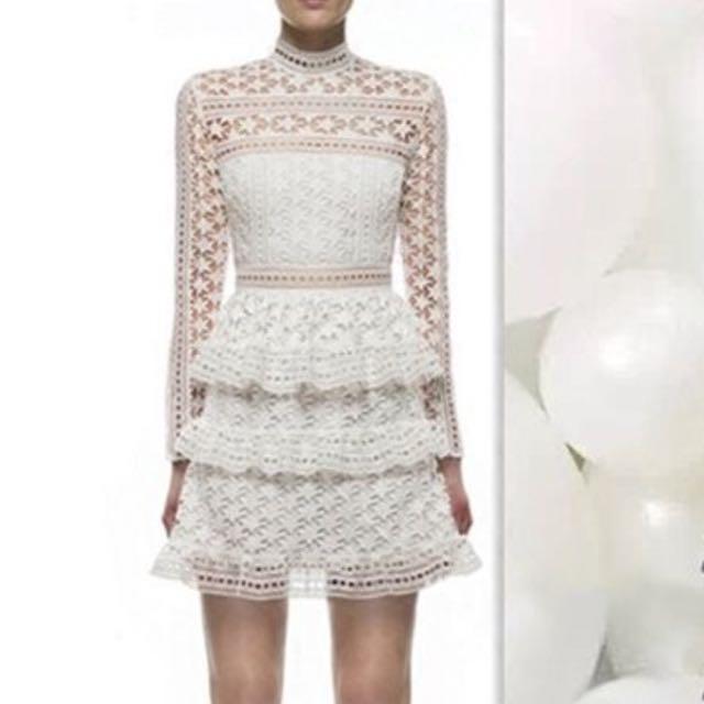 星星蕾絲洋裝