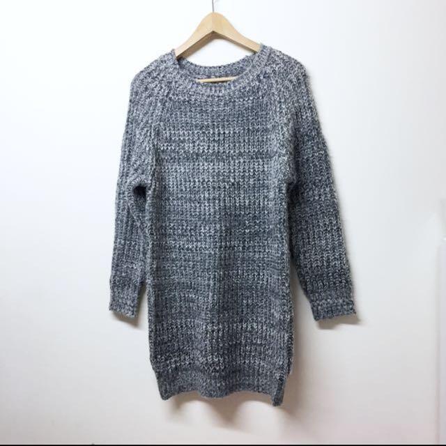 混色針織質感毛衣