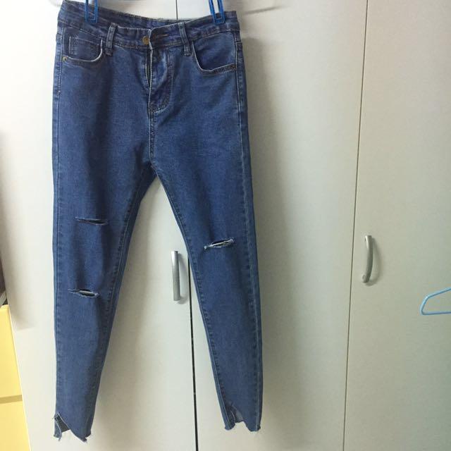 激瘦牛仔褲👖