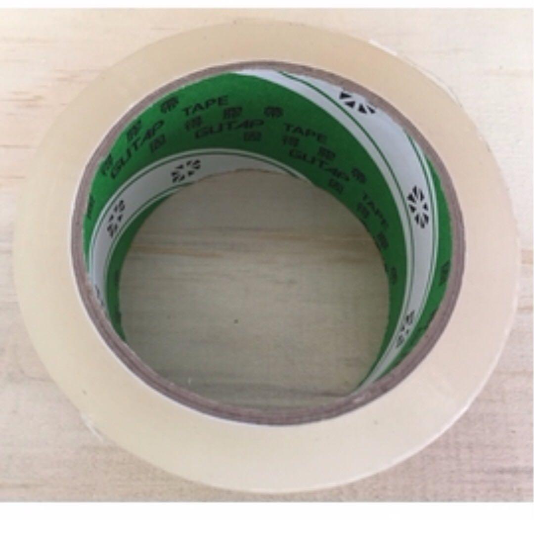 地球牌 48mm90y 一條共六卷 透明膠帶 封箱膠帶
