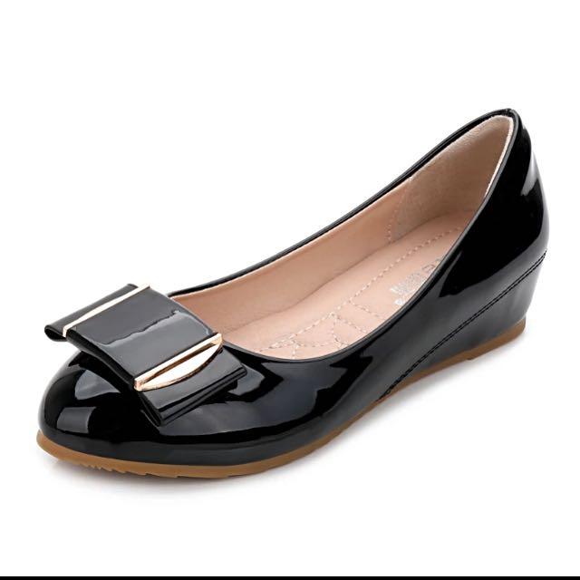 美人心機內增高❤️ 娃娃鞋豆豆鞋淑女鞋女鞋