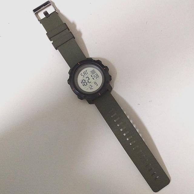 軍事 軍綠 手錶 42mm左右 電子錶 當兵