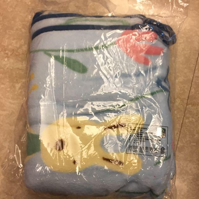 法國兔珊瑚絨毯 毛毯 被子 毯子#交換禮物 #可換物