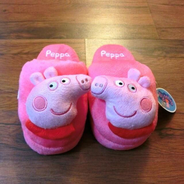 含運 小朋友 可愛 冬天 室內拖鞋 佩佩豬 正版(含運限全家店到店取貨)