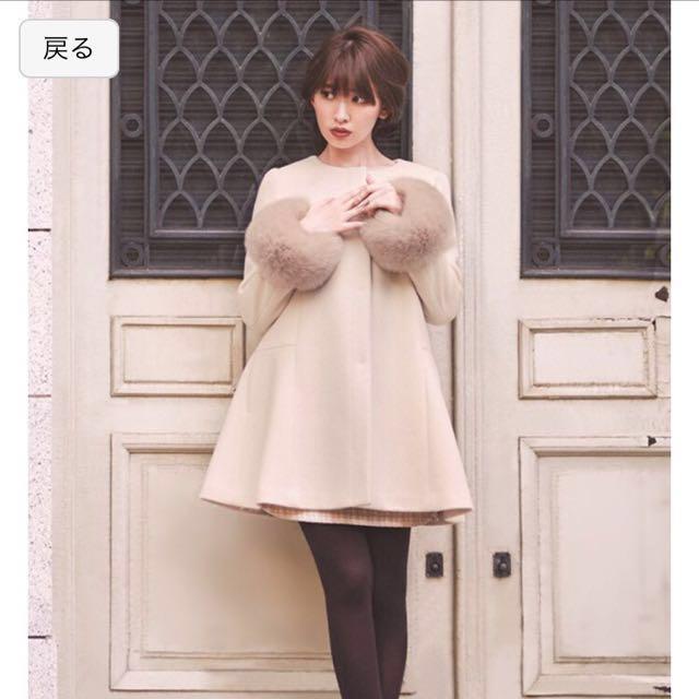 誠徵 rirandture 小嶋陽菜著用aline大衣