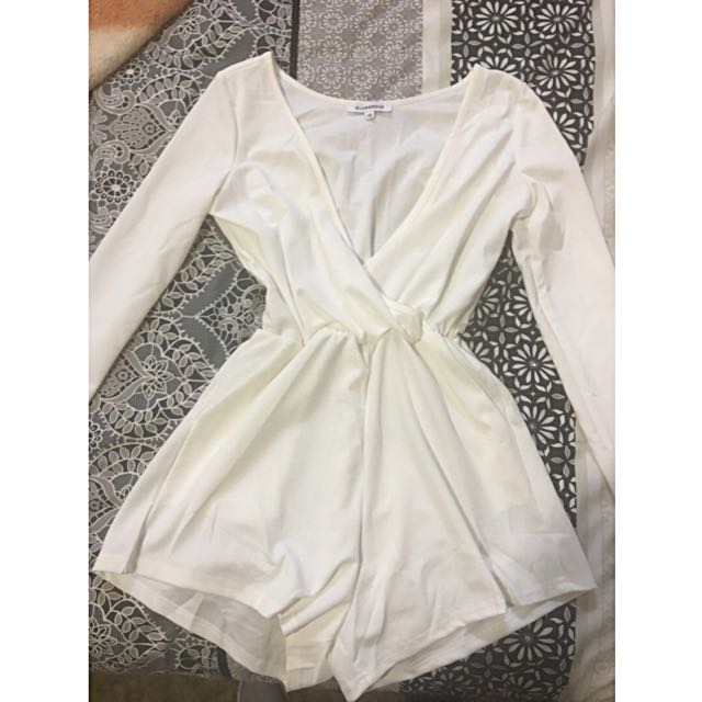 ** SALE ** - White Playsuit