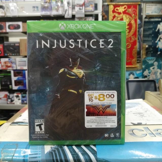 🆕 Xbox One Injustice 2