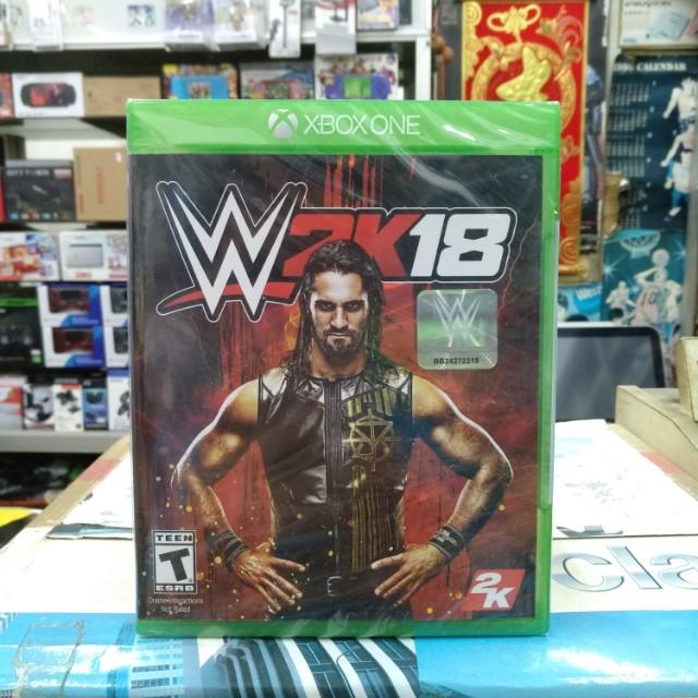 🆕 Xbox One WWE 2K18
