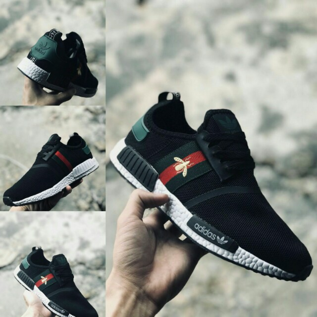 wholesale dealer 3399d 952c5 ADIDAS NMD x GUCCI BEE, (SIZE 41-45 EURO)