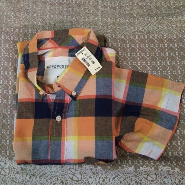 Aeropostale Men's Short Sleeves Polo