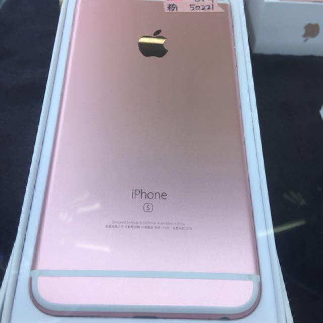 Apple iPhone 6s Plus 64g 粉 95% new