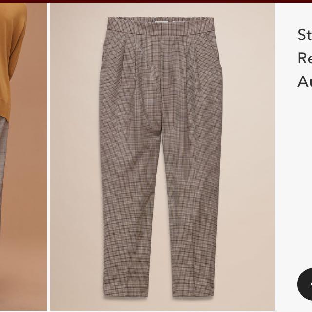 Aritzia Babaton Cohen pants wool size 0