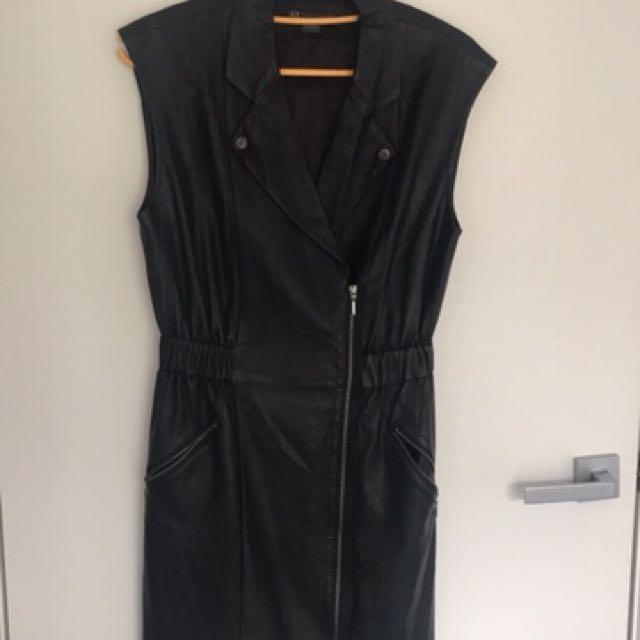 Armani Exchange black dress