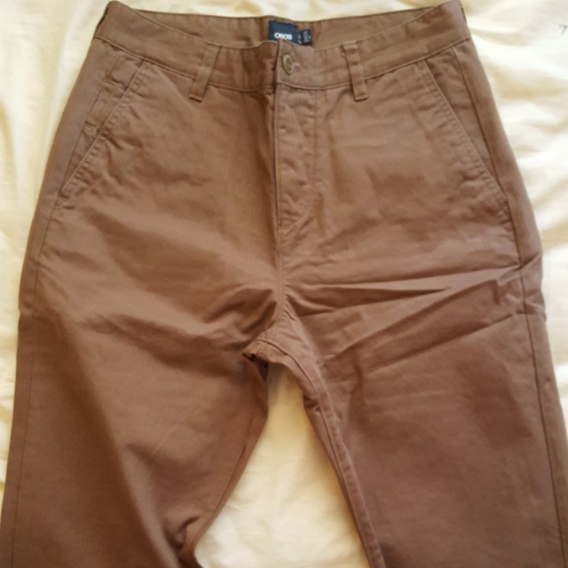 ASOS Brown chinos pants