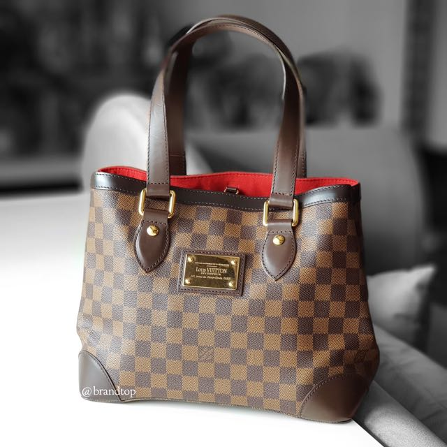 273f157bc349 Authentic Louis Vuitton Damier Ebene Hampstead PM LV