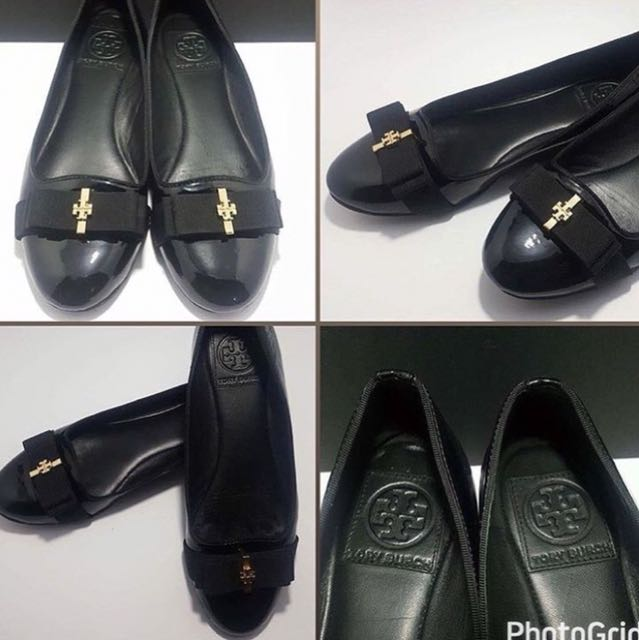 Authentic Tory Burch Trudy Ribbon Flats
