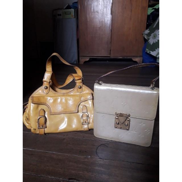 BAG BUNDLE (LOUIS VUITTON AND ESCADA) 510bce37a12ca