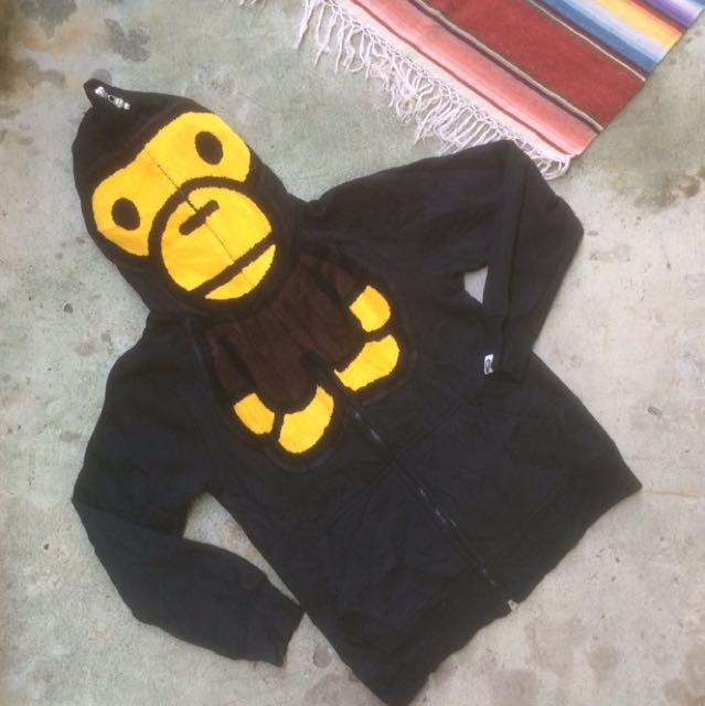 5a5071b99402 Bape x baby milo full zip hoodie