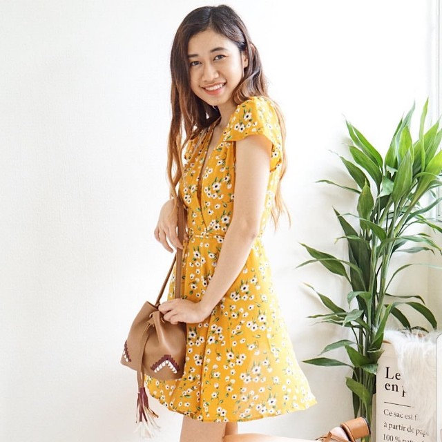 BASH Pure Intentions Dress in Yellow