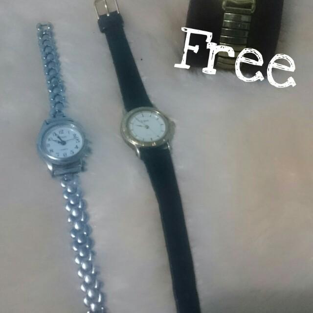 Beli 2 jam tangan kecil Free 1 jam