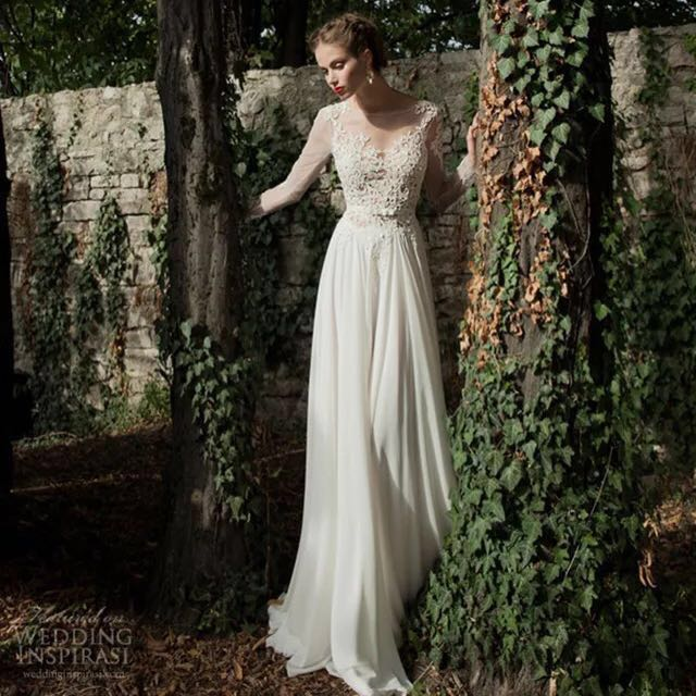 Berta inspired wedding gown