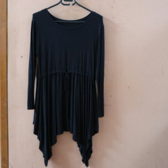 Black Baby Doll Top