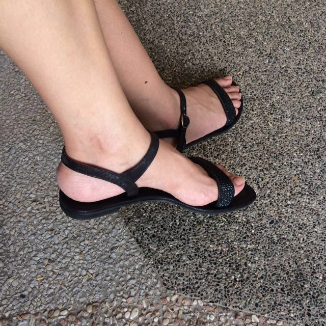 SALE! Classy Black Sandals
