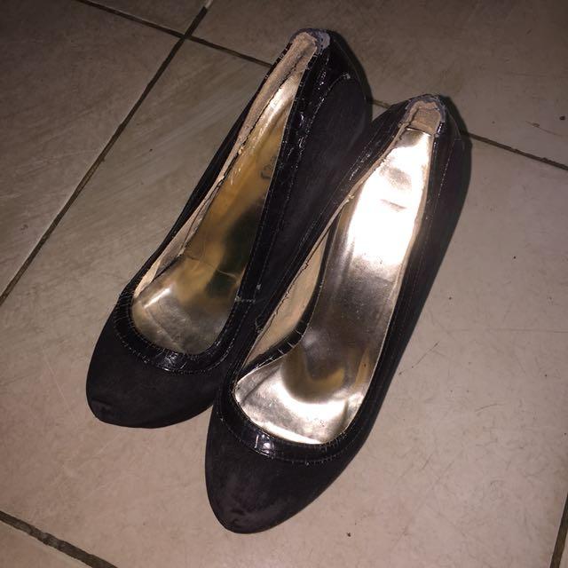 Black Heels 17cm