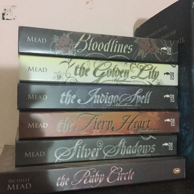 Bloodlines series by richelle mead books stationery books on bloodlines series by richelle mead books stationery books on carousell fandeluxe Gallery