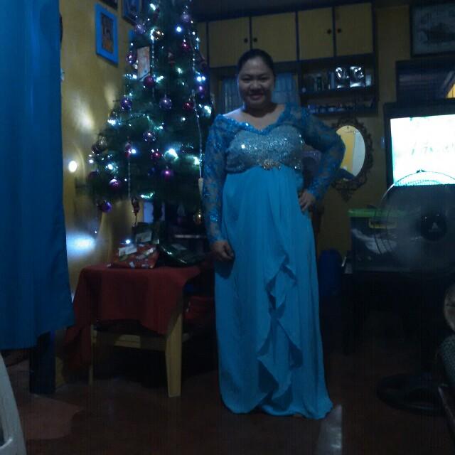 Blue gown, Elsa inspired
