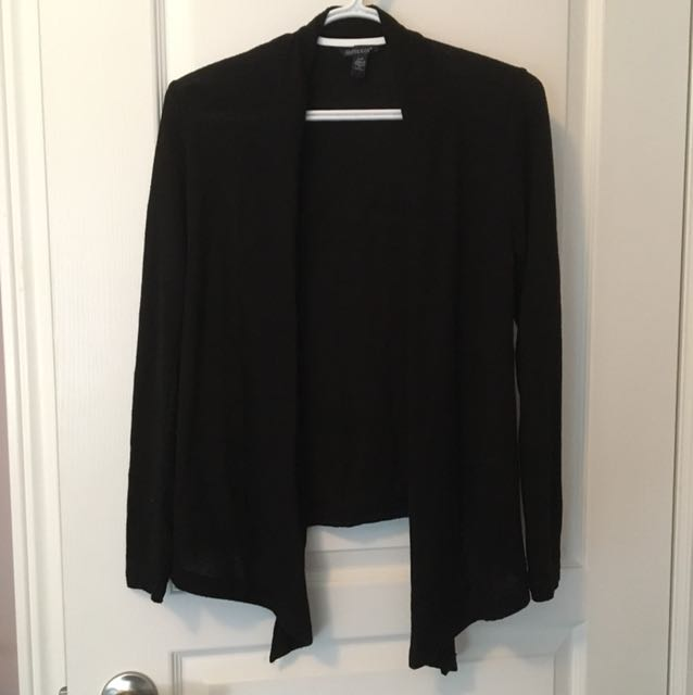 Bluenotes Black cardigan