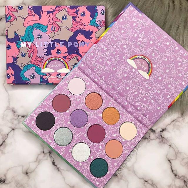 BN Authentic Colourpop My Little Pony Eyeshadow Palette