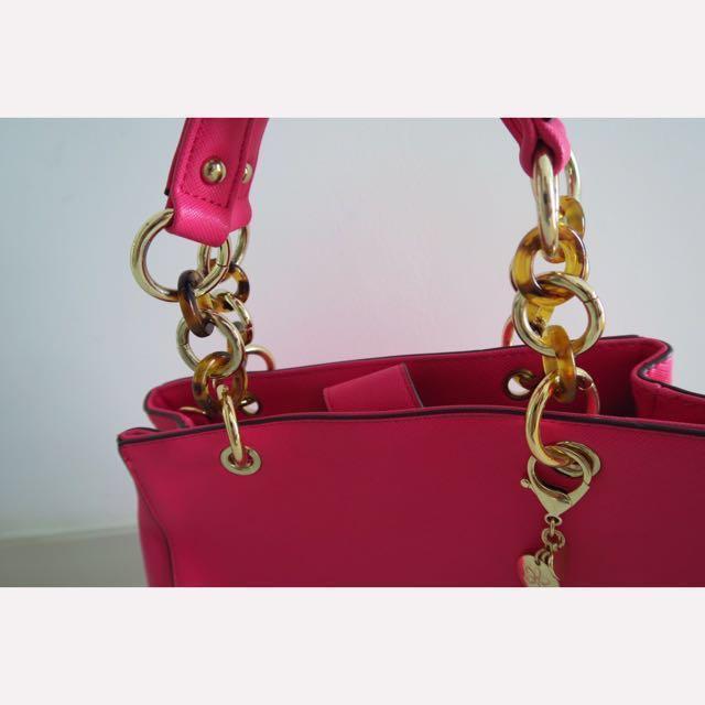 BNWT Daphne Fuchsia Lady Bag #1212YES