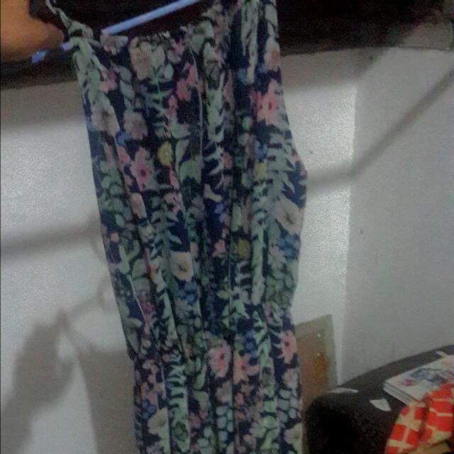 Body&Soul Asymmetric Floral Dress